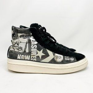 CONVERSE ALL STAR Pro Leather Mid x Pleasures